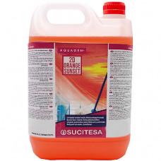 Det. Multiusos Ambientador Aquagen 2D Orange Sunset 5L