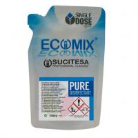 Detergente desinfetante bactericida fungicida e virucida Ecomix Pure Disinfetante Monodose un.