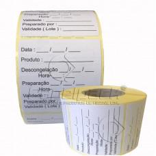 Rolo Etiqueta Térmica 50x50 mm