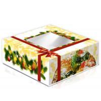 Caixa de Bolo Rei 24 com  Janela Emb. com 50 Unid.