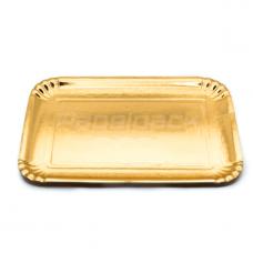 Bandeja de Cartão Dourada nº 7L 30x40cm Emb. com 100 Un.